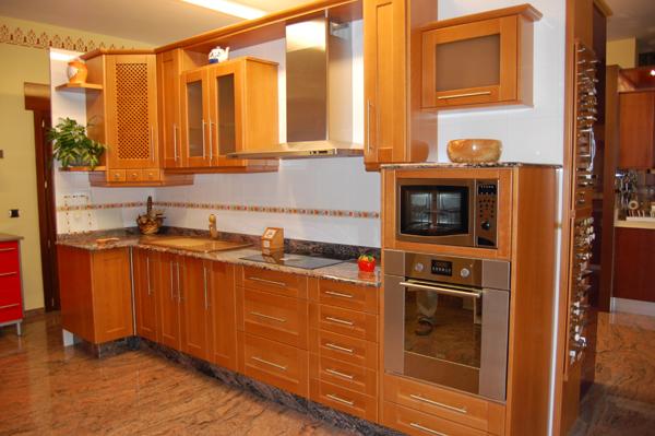 Muebles de cocina clasicos en madera perfect muebles for Muebles cocina clasicos