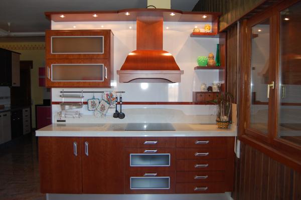Imagen 22 - Cocinas color nogal ...